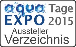 aqua EXPO Tage 2015 Ausstellerverzeichnis