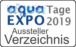 aqua EXPO Tage Ausstellerverzeichnis 2019