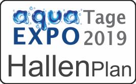 aqua EXPO Tage Hallenplan 2019